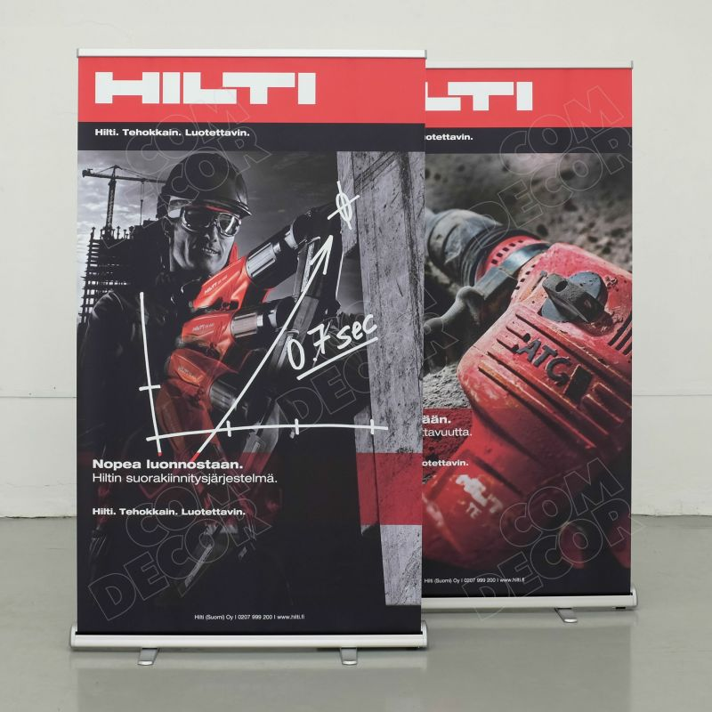 120cm roll up banner