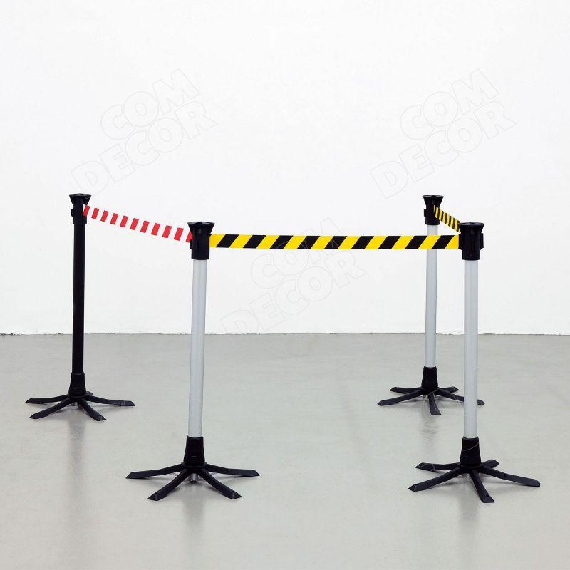 Avspärrningsstolpe / säkerhetsbarriärer