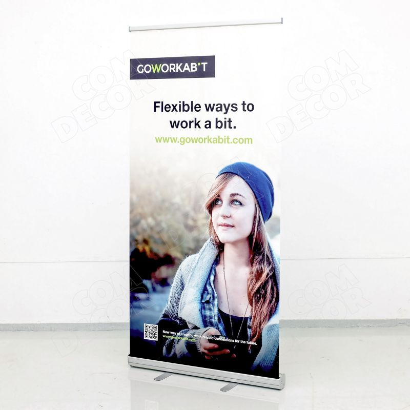 Billig roll up banner