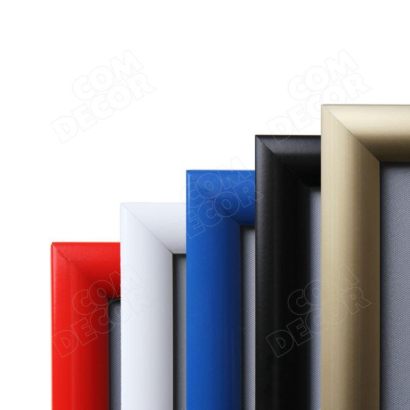 Färgad affischramar / snäppramar