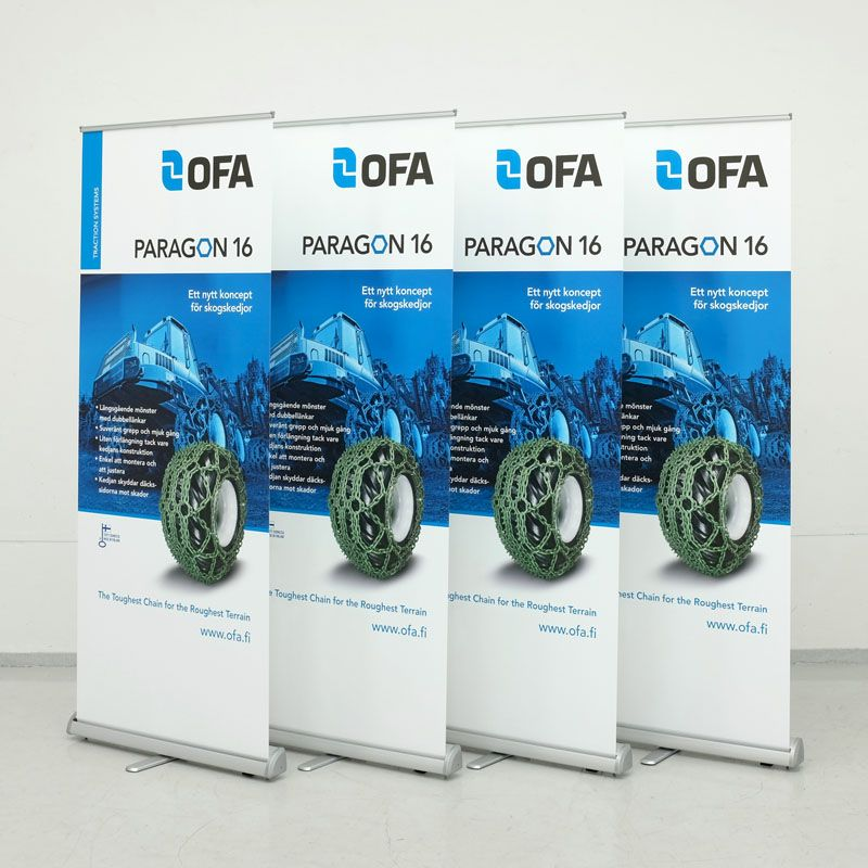 Prisvärd roll up banners