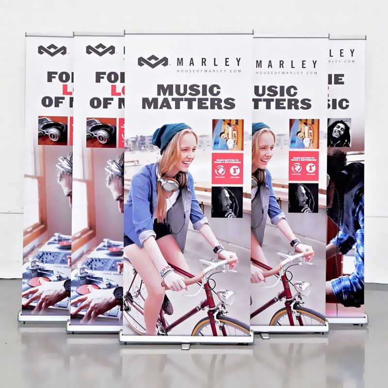 Roll-up banners