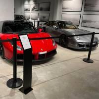 Queue Barrier Museo Black