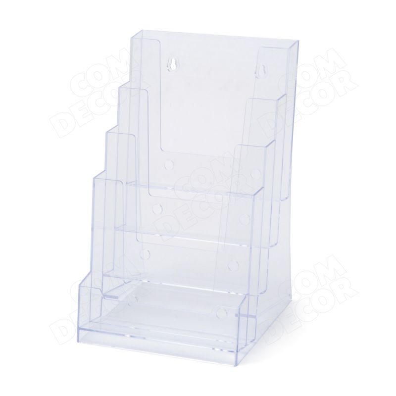 A5 brochure holder for table