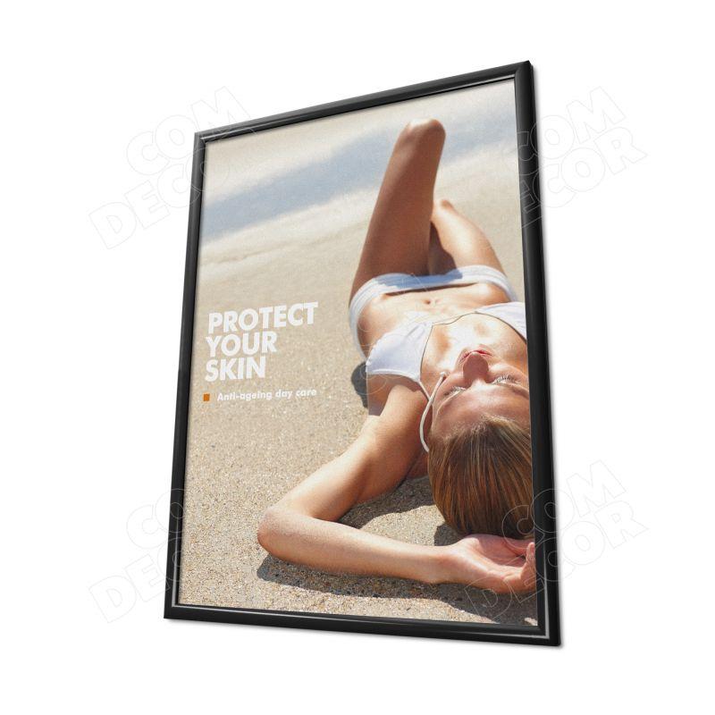 Black poster frame A1