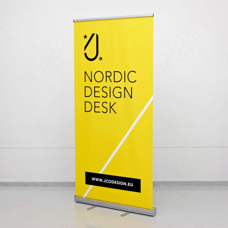 Easy rollup banner