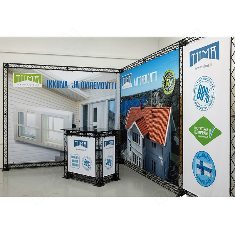 Exhibition accessories - exhibition counter and wall
