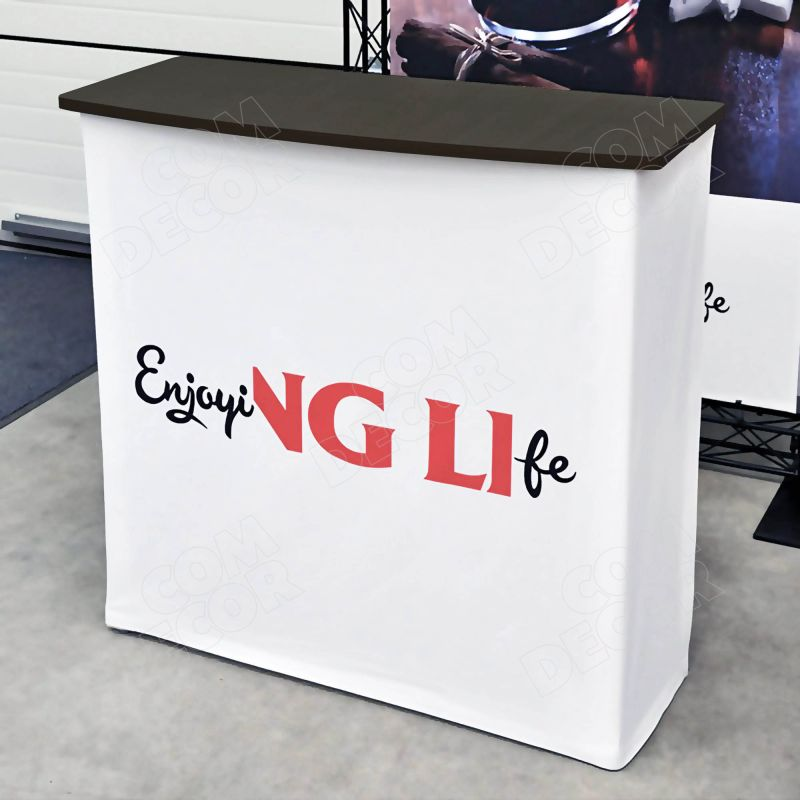 Exhibition counter / advertising stand