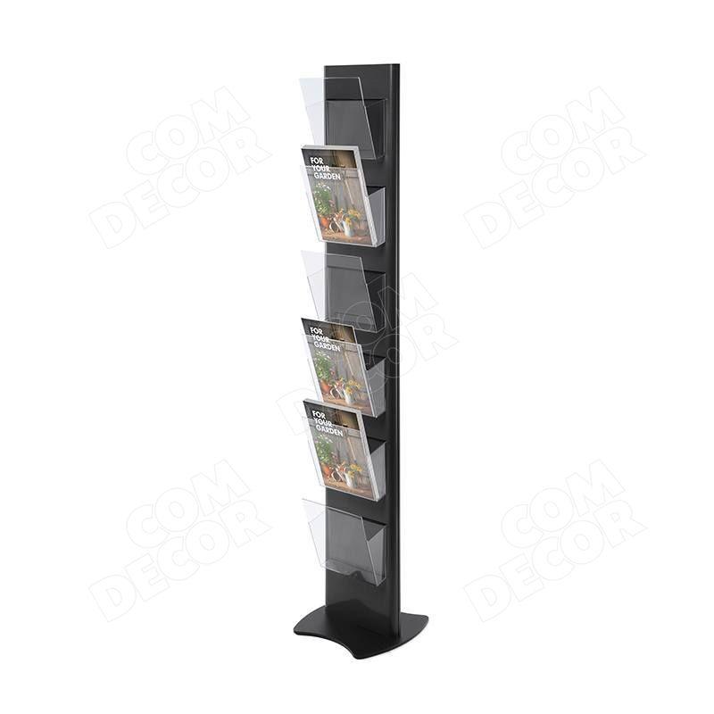 Free-standing brochure holder
