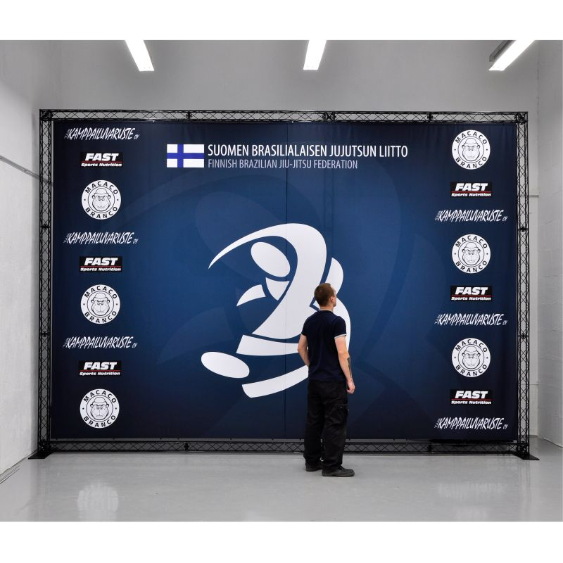 Large advertising wall / exhibition stand