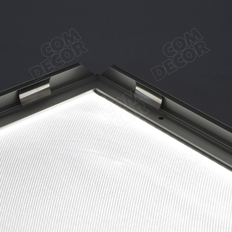 LED lightbox with snapframe