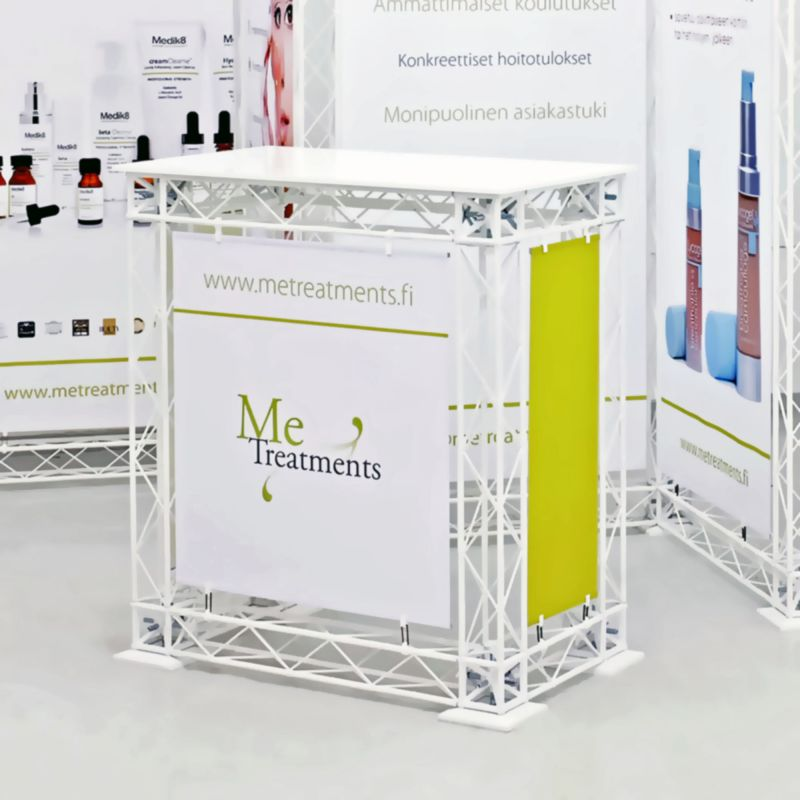 Presentation tables / counters / exhibition counter / exhibition stands