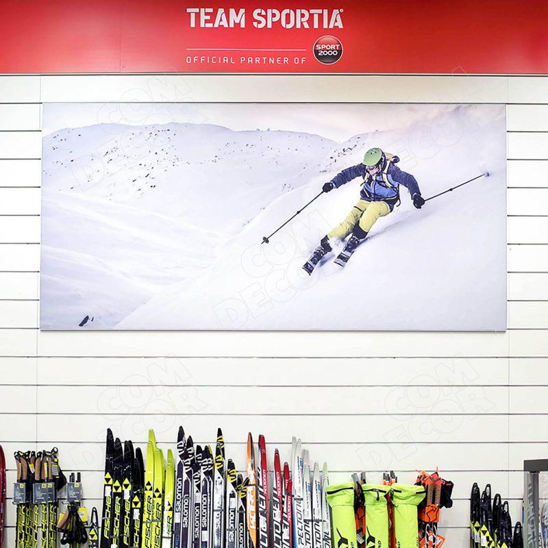 SEG frame / advertising panel / shop banner