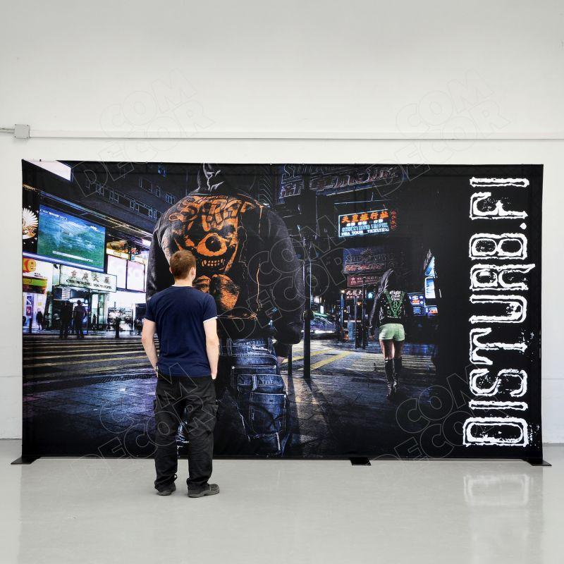 Truss backdrop / photo wall / photo background
